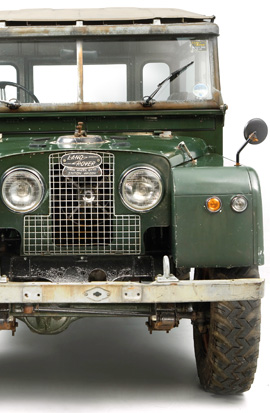 classic LandRover insurance